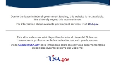 Apparently government websites are also on the payroll.